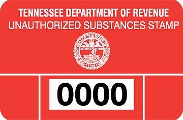 Tennessee's Crack Tax Sticker