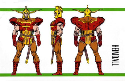 Heimdall - Asgardian Gate Keeper