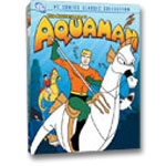 Aquaman Animated DVD Cover
