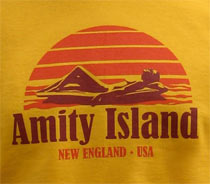 Amity Island T-Shirt from Last Exit to Nowhere