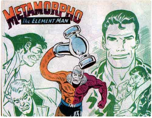 Metamorpho - The Element Man (Rex Mason)