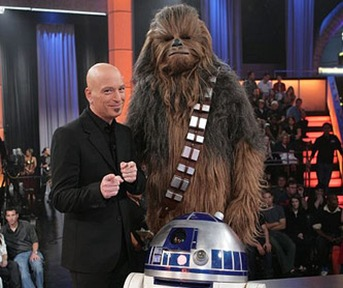 Chewbacca, R2, and Howie Make a Deal