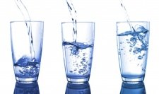 glasses of water for water fasting