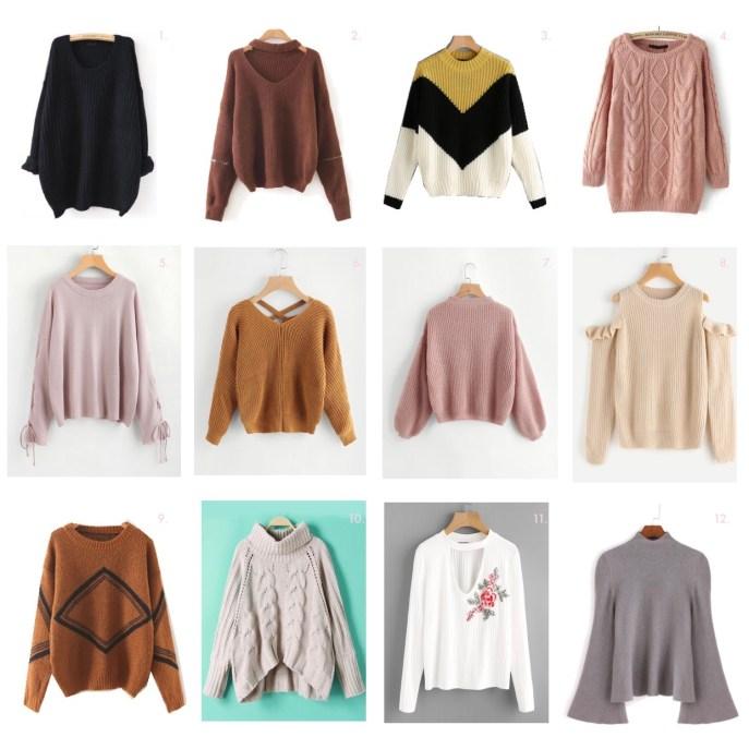 RomWe Knit Sweaters