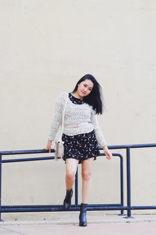 How To Wear Knit Sweaters Five Ways