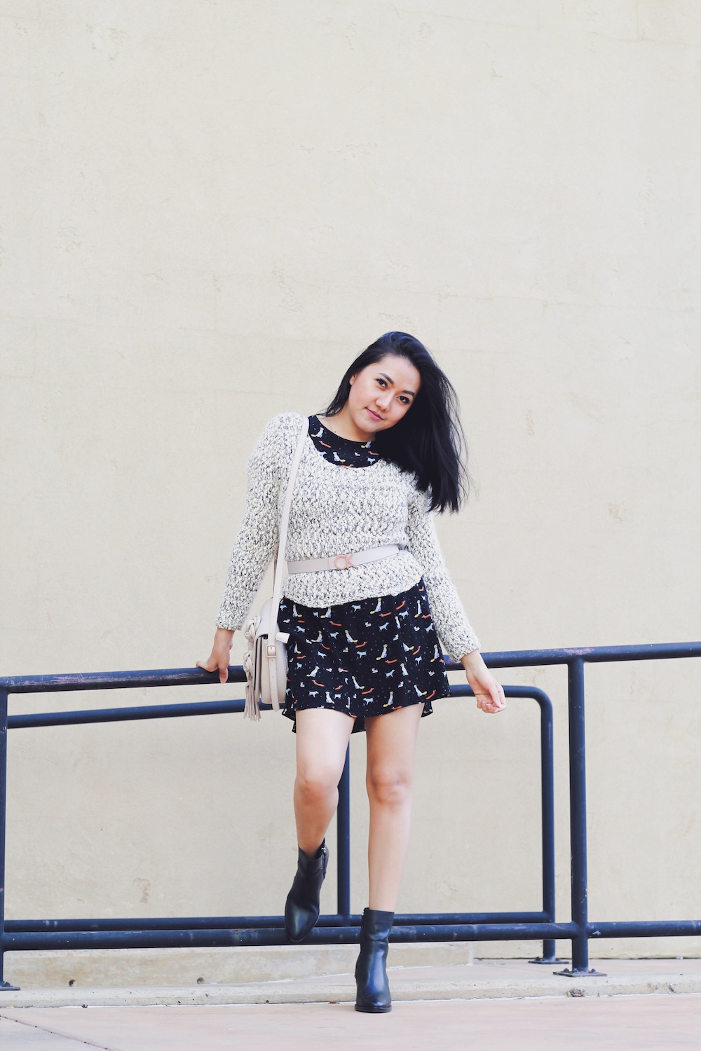 How to wear a knit sweater five ways