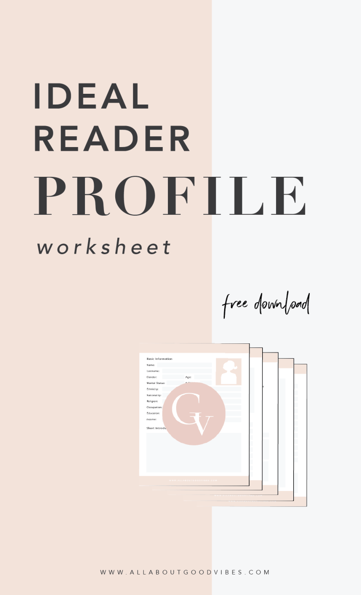 Ideal Reader Profile Worksheet
