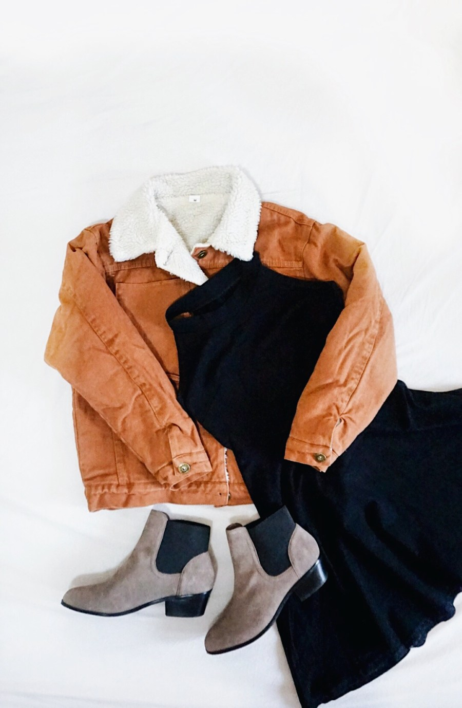 #NAKDfashion NA-KD.com discount coupon code mini haul Fall-Winter outfit flatlay
