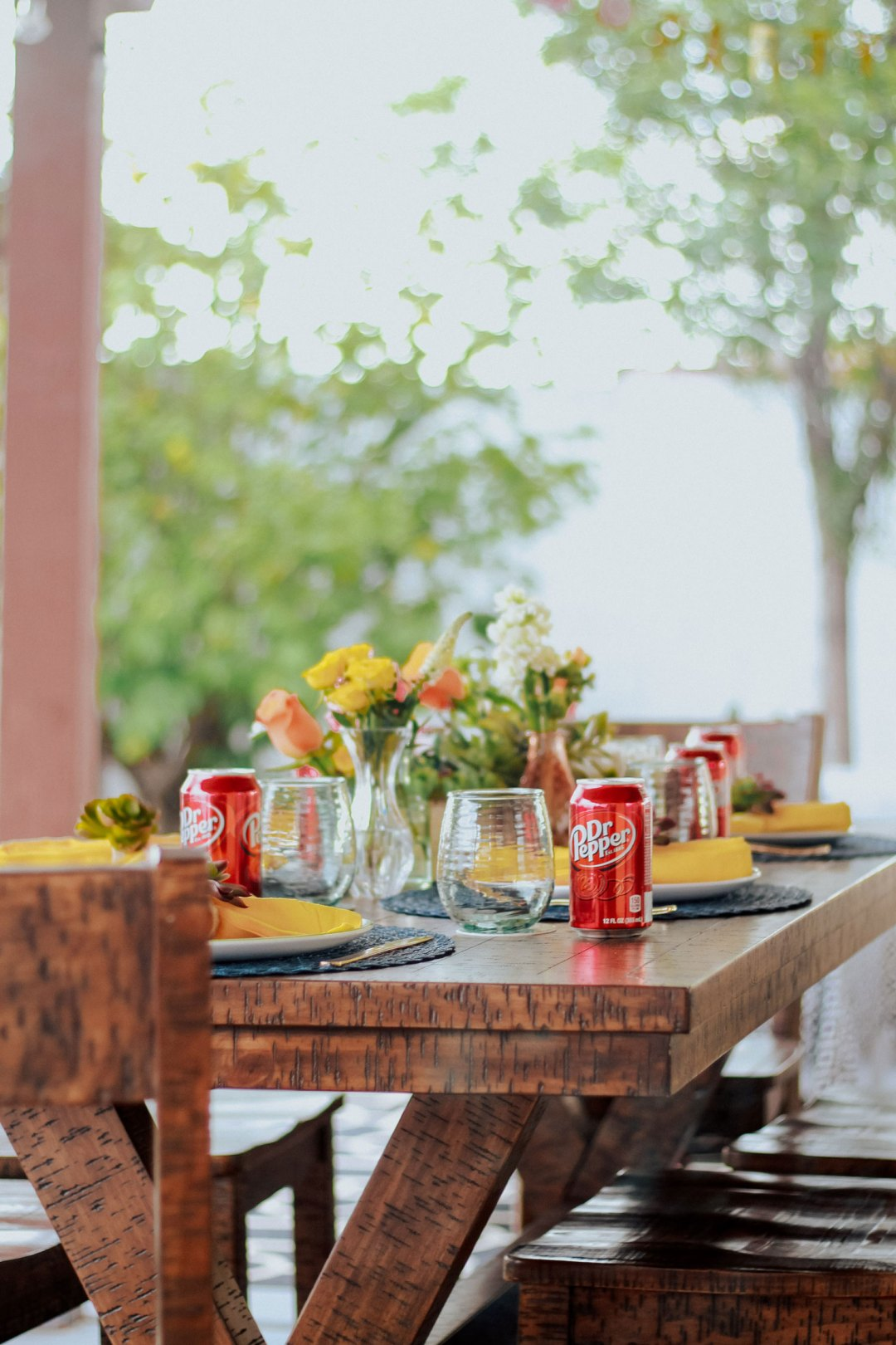 Summer Backyard BBQ Party with Dr Pepper