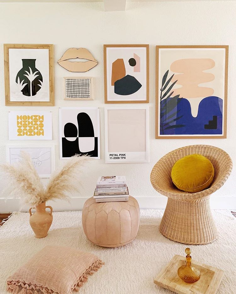 Three Ways to Make Your House Feel Like Summer | Living Room Inspo-@curatedbymolly allaboutgoodvibes.com-Molly Larsen