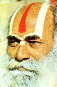 sadhu with tilak