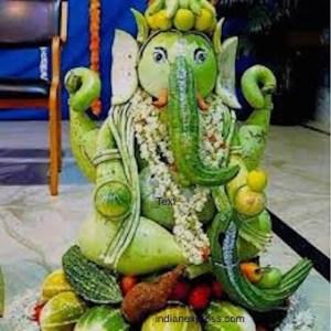 Veggie Ganesha