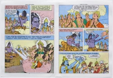 Gods Create Durga