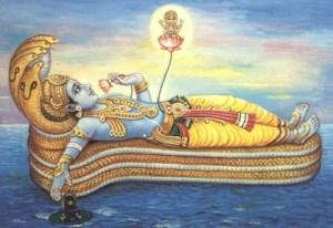 Vishnu on Adi Sesha