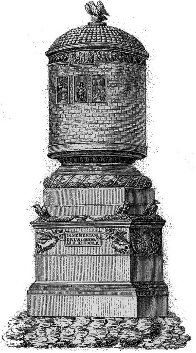 Reconstruction of the Drusus stone in Mainz