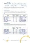 Lean Shop Floor Visit Checklist