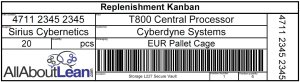 Kanban card