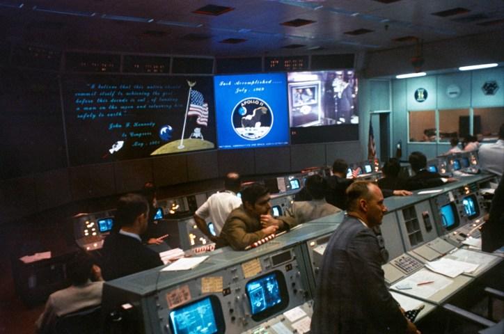 Apollo 11 Mission Control