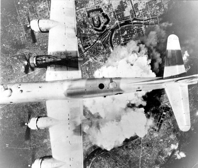 B-29 over Japan