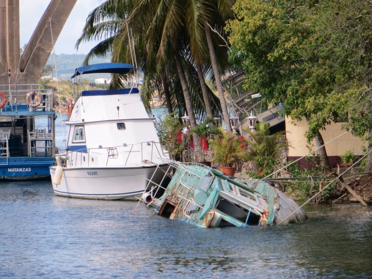 Tourist Boat Fleet in Matanzas, Cuba