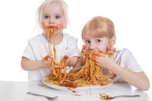 Eating Spaghetti