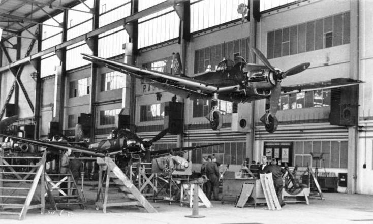 Junkers JU 87 Assembly Line