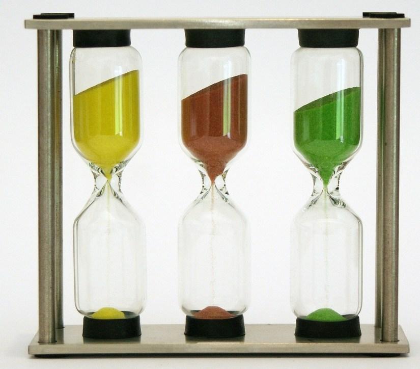 Three Hourglasses