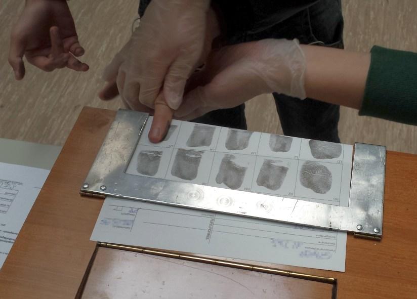 FIngerprints Refugees