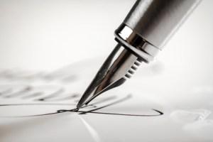 Pen, Writing, Letter.