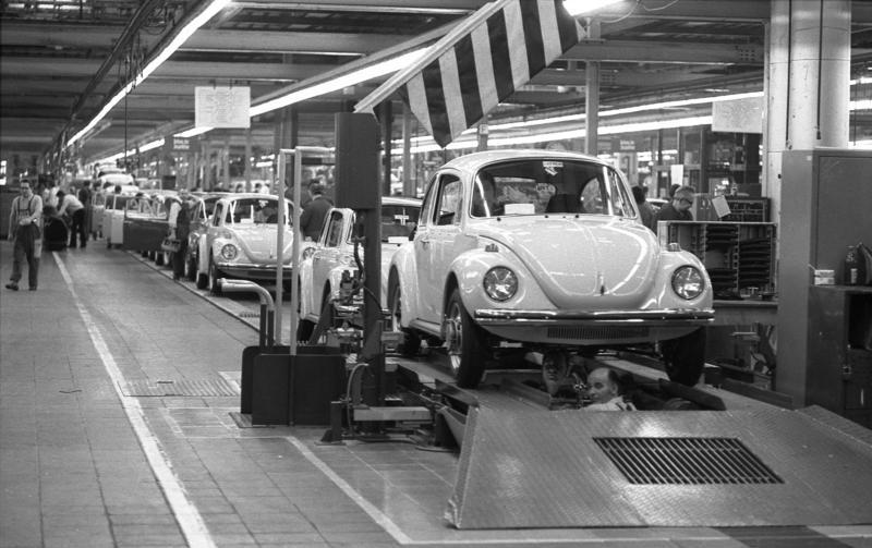 VW Beetle Assembly Line