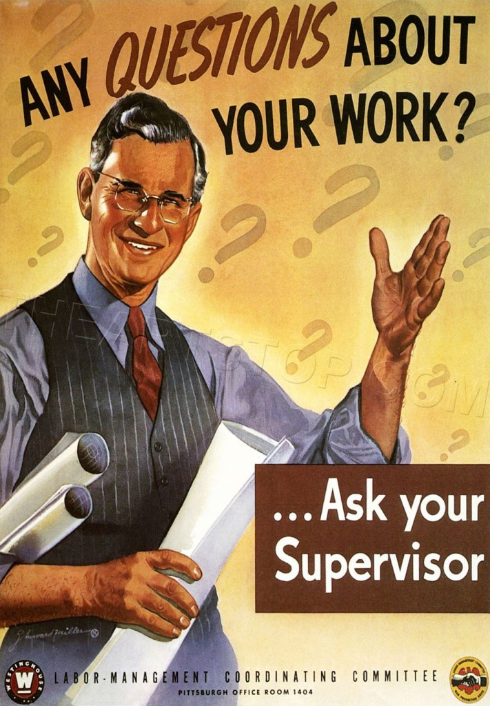 Any Questions about your Work?