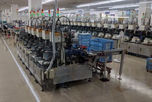Automatic Line at Omron Beppu