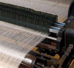 Toyoda Model G Automatic Loom Detail Warp Break Stop