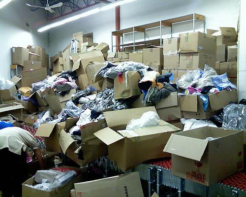 Pile of Material