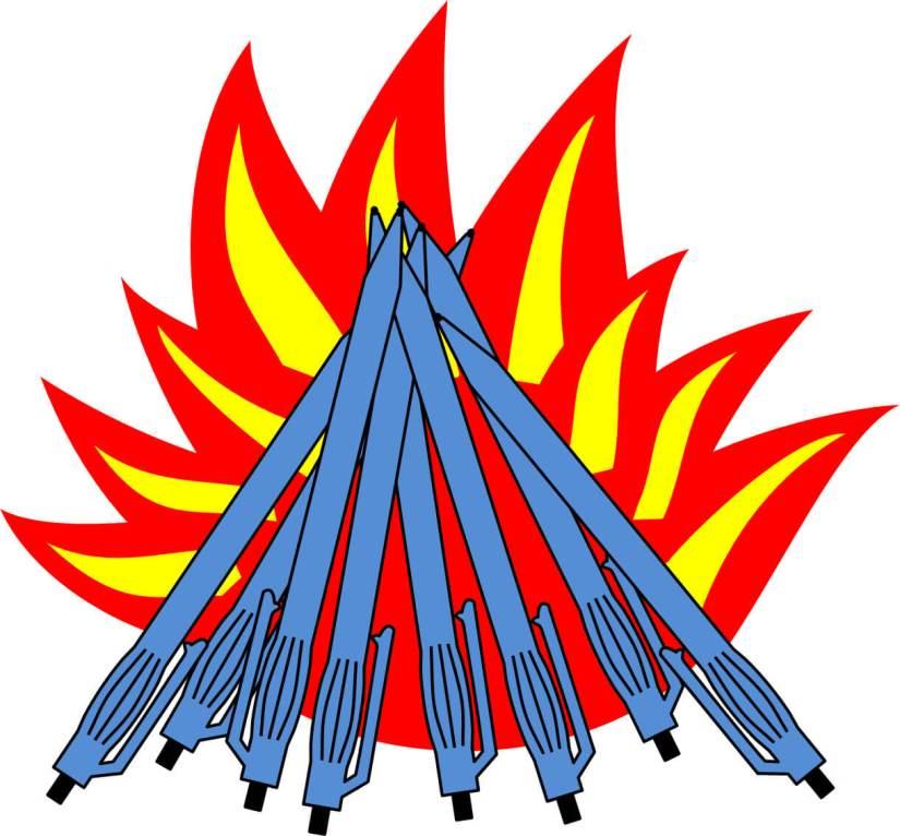 Ballpoint Pen Campfire
