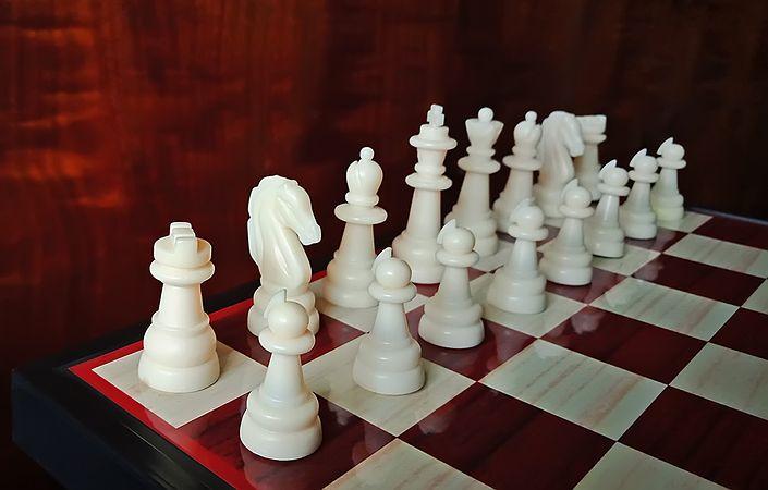 White Chess Set