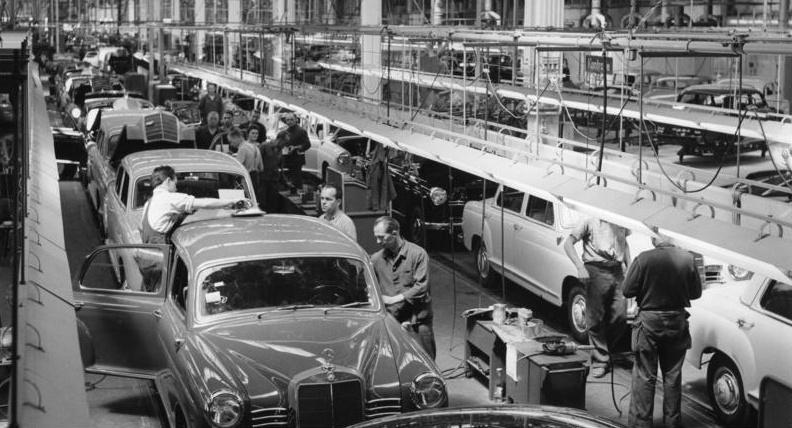 Daimler Assembly Line