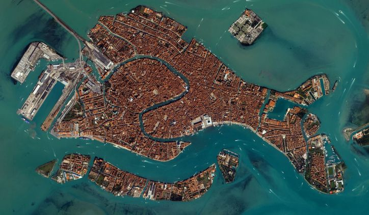 Venice Satelite View