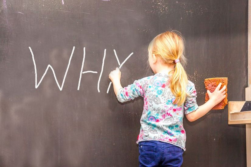 5 Why on Chalkboard
