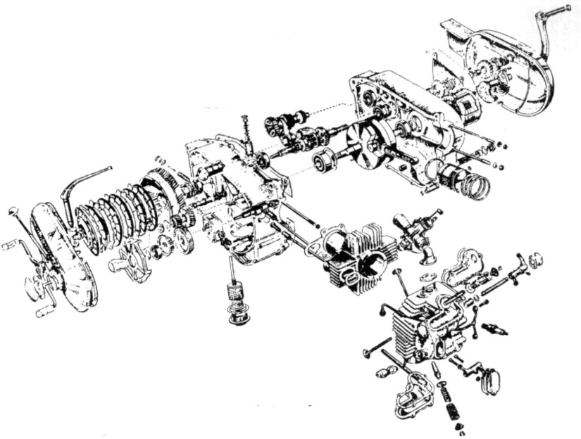 Engine Exploded View