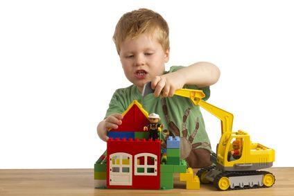 Boy and Lego