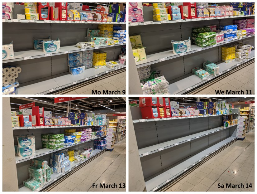 Rewe March 2020 Toilet Paper History