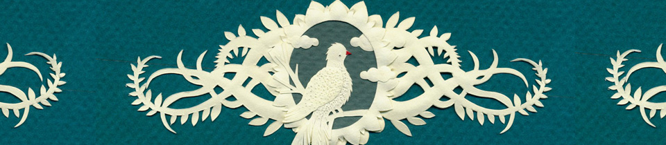 New Papercut with Bird.