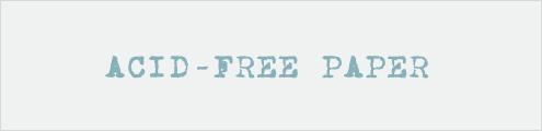 Acid-free paper header