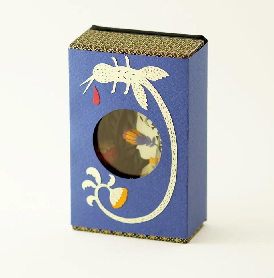 Miniature Book. Jardin. By Elsa Mora