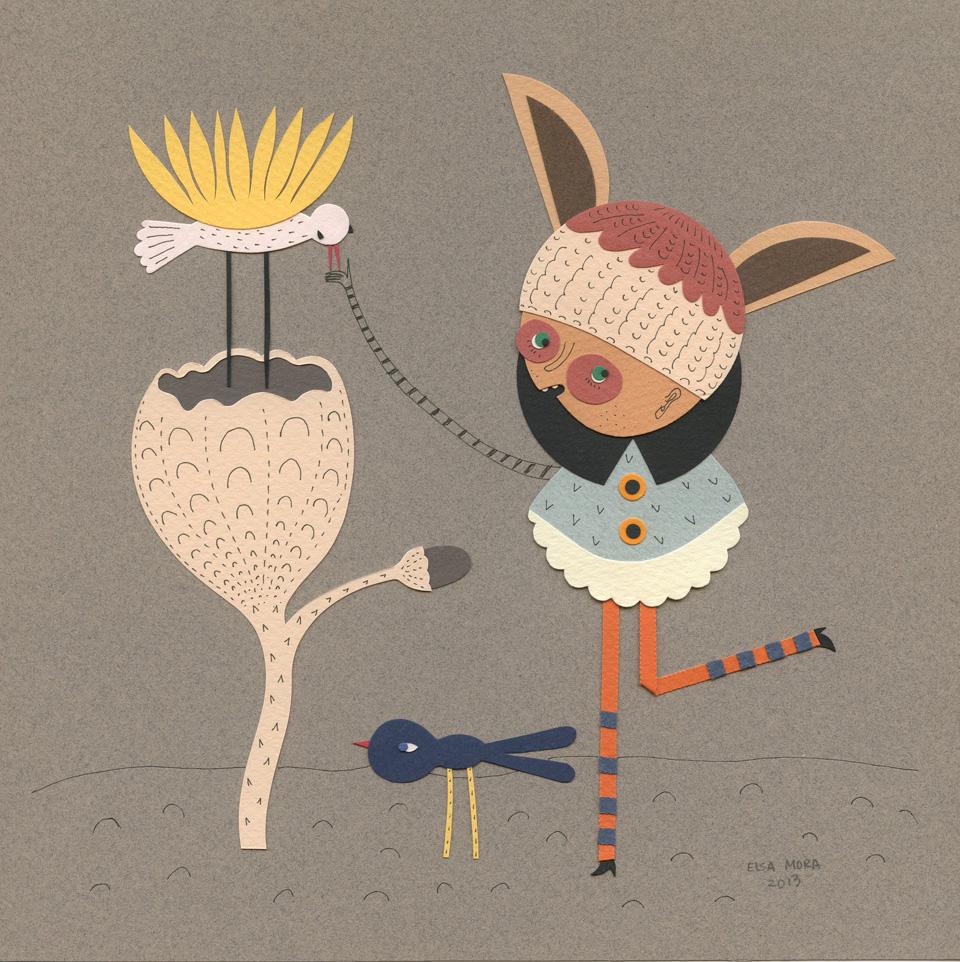 Paper illustration by Elsa Mora 1