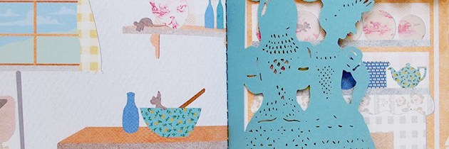 Charming Paper-Cut Cinderella Book by Sarah Dennis Hits the Shelves.
