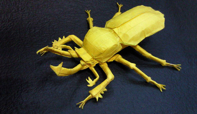 Paper-Origami-bug