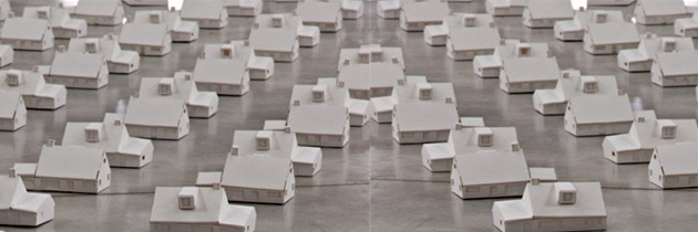 Paper Installation by Piotr Chizinski.
