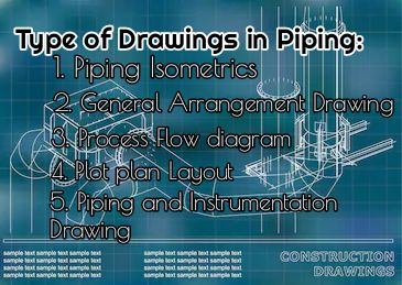 An Overview on Different type of piping drawing used in Piping Project Construction